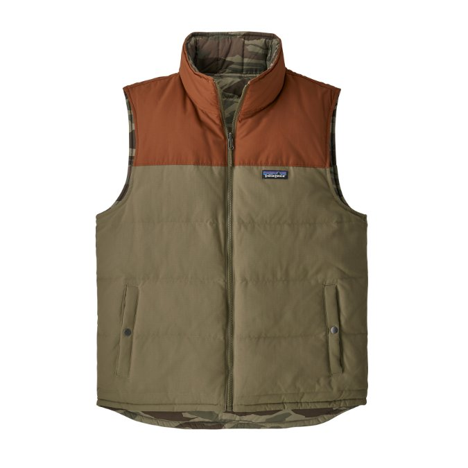Patagonia-Reversible Bivy Down Vest - Men's
