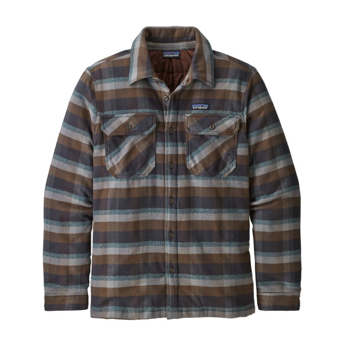 Patagonia-Insulated Fjord Flannel Jacket - Men's