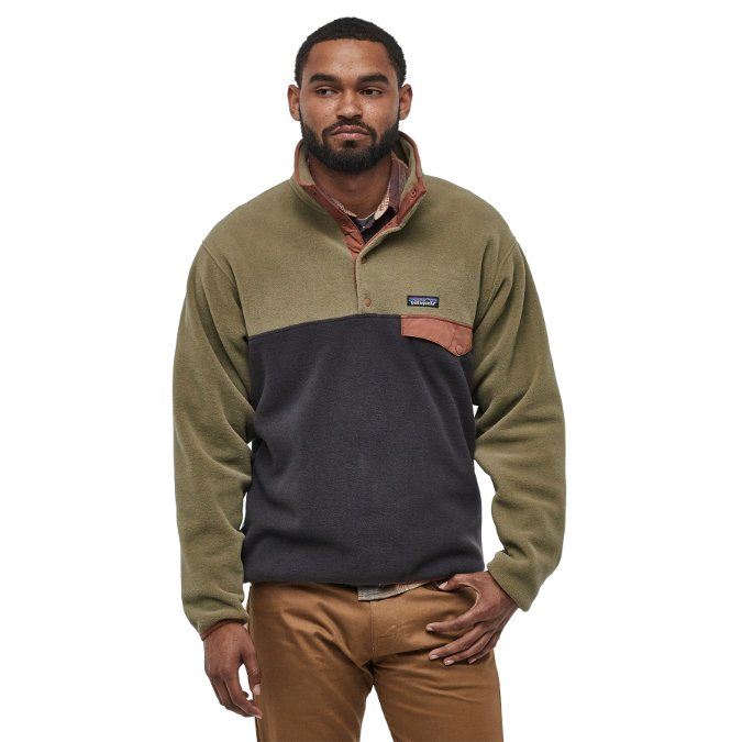 Patagonia-Lightweight Synchilla Snap-T Pullover - Men's