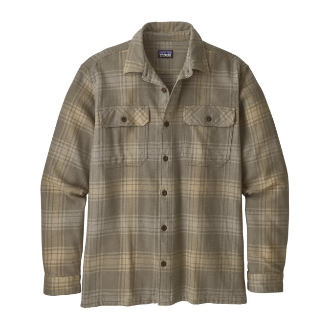 Patagonia-Long-Sleeve Natural Dye Fjord Flannel Shirt - Men's