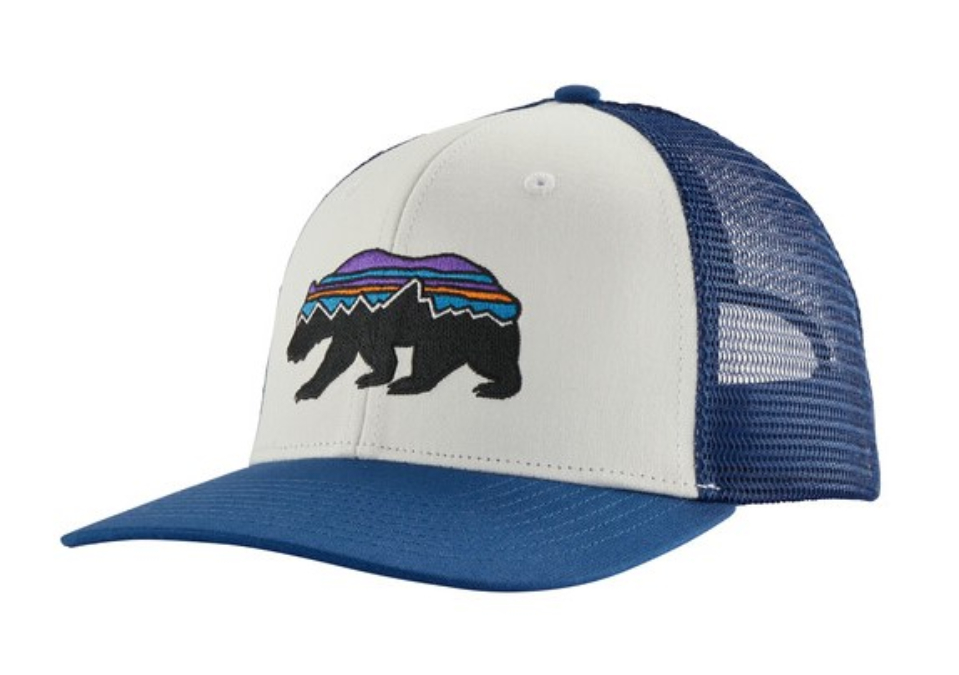 Patagonia-Fitz Roy Bear Trucker Hat