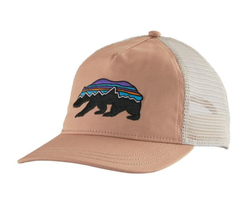 Patagonia-Fitz Roy Bear Layback Trucker Hat Womens