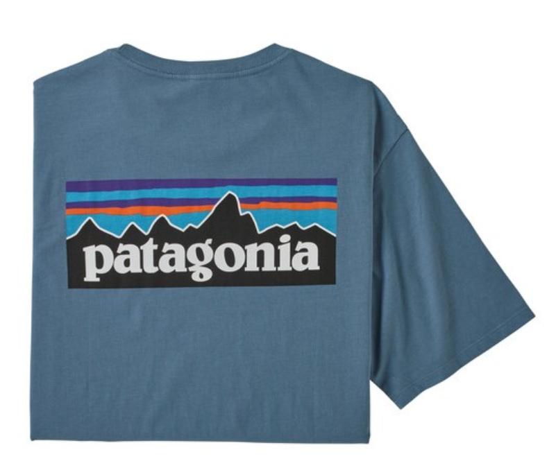 Patagonia-P-6 Logo Organic T-Shirt - Men's