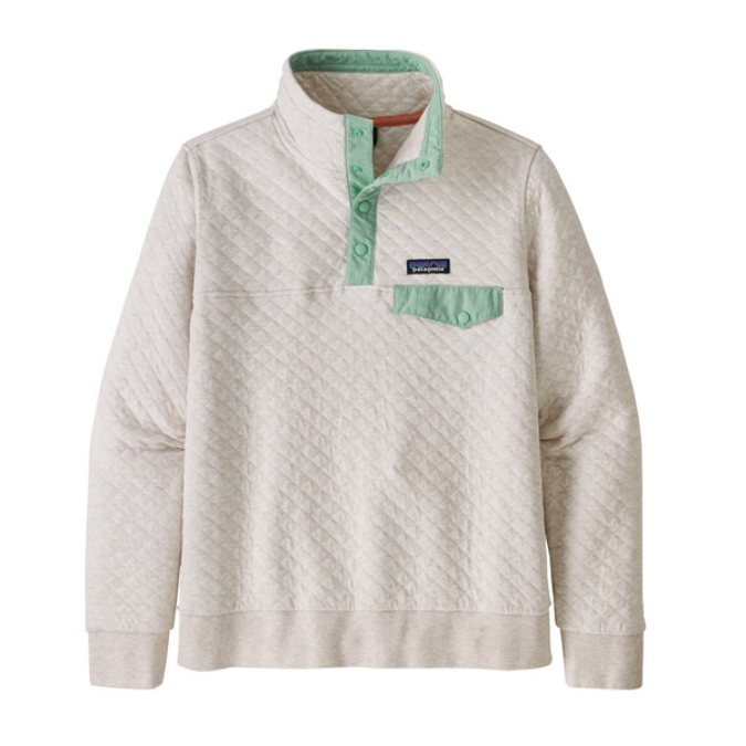 Patagonia-Cotton Quilt Snap-T Pullover - Women's
