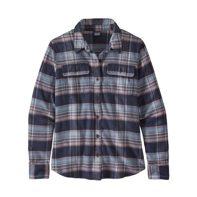 Patagonia-Long-Sleeve Fjord Flannel Shirt - Women's