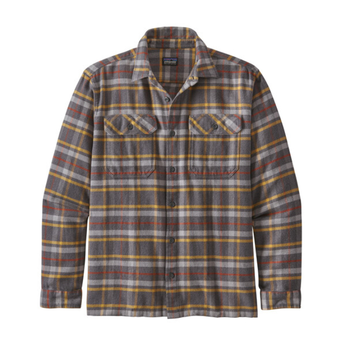 Patagonia-Long-Sleeve Fjord Flannel Shirt - Men's