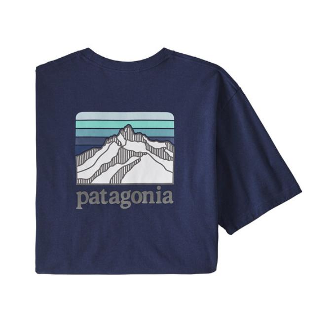Patagonia-Line Logo Ridge Pocket Responsibili-Tee - Men's