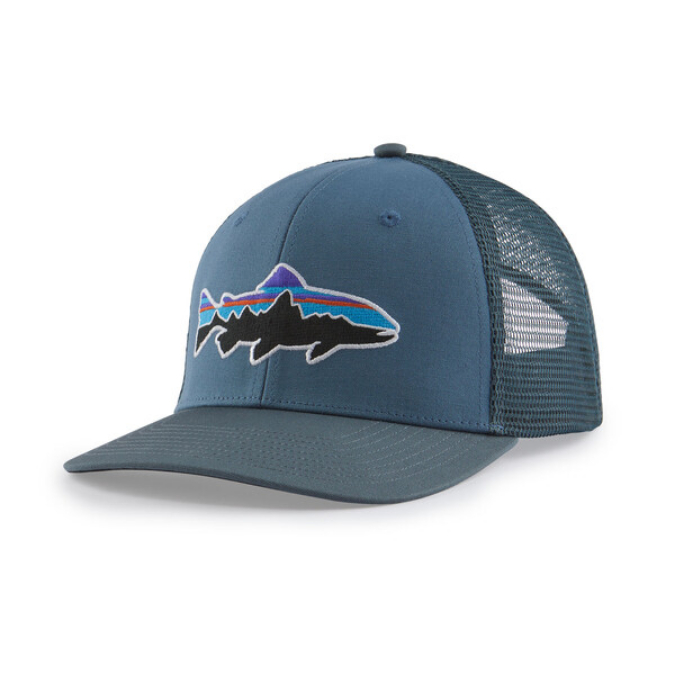 Patagonia-Fitz Roy Trout Trucker Hat