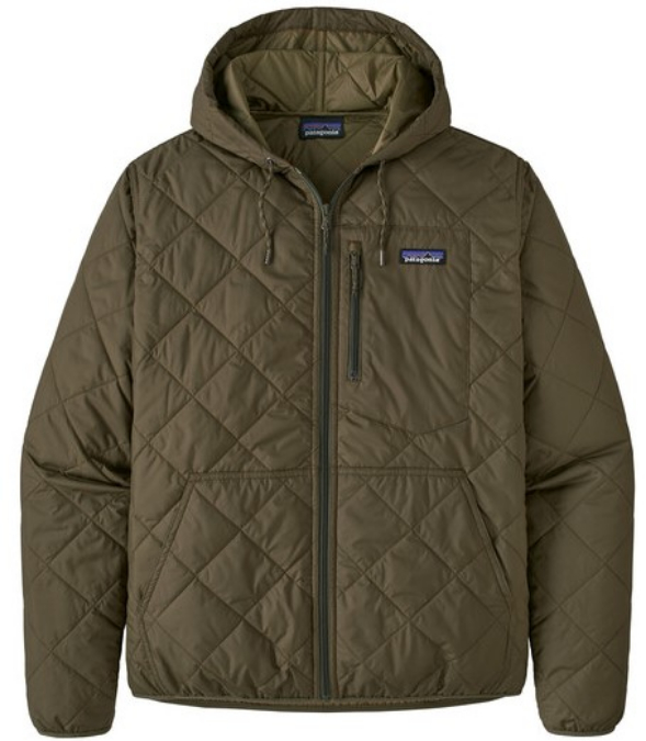 Patagonia-Diamond Quilted Bomber Hoody - Men's