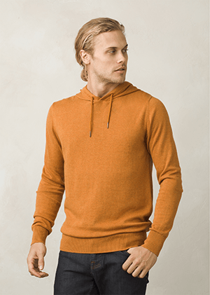 prAna-Throw-On Hooded Sweater - Men's