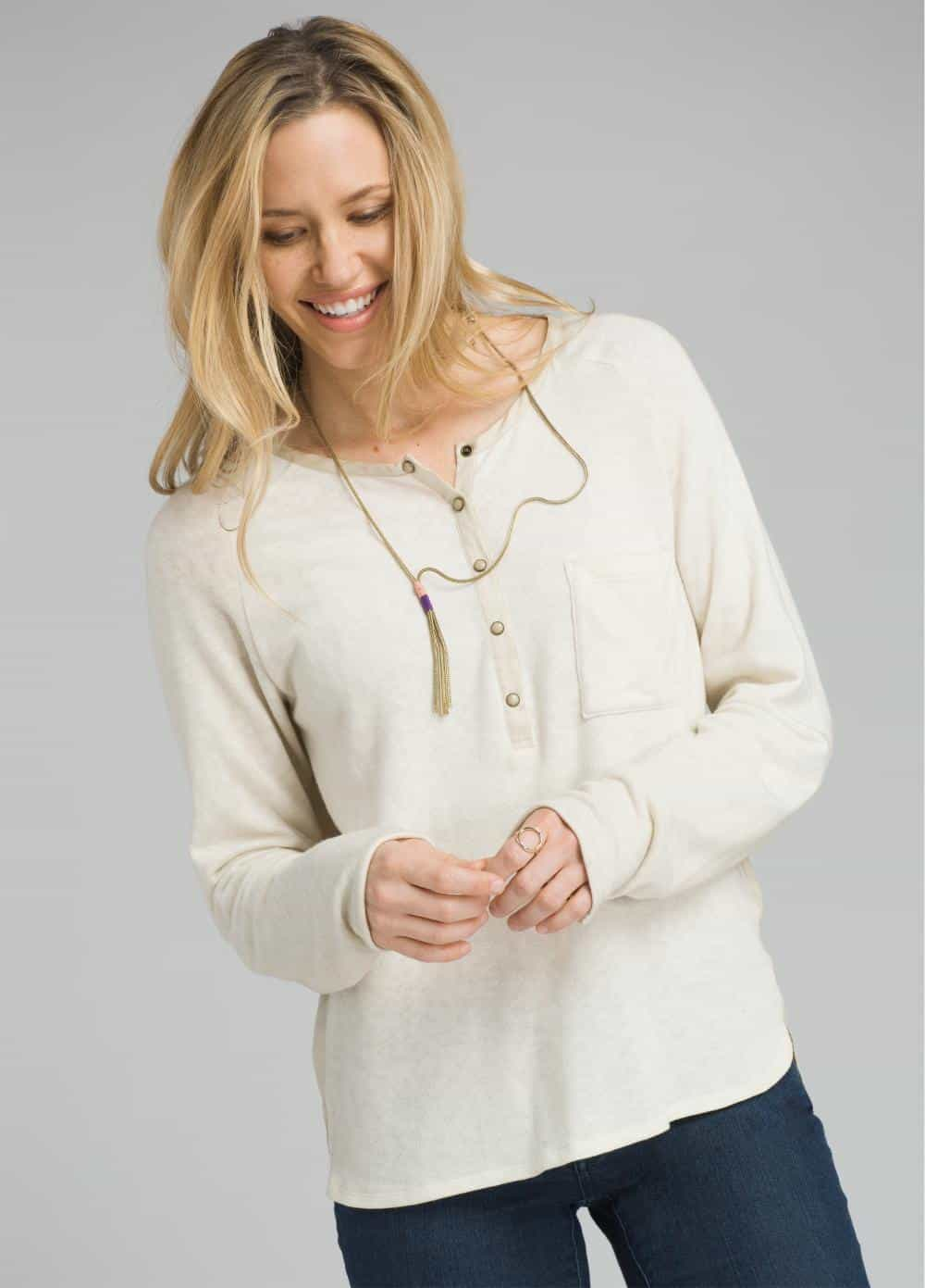 prAna-Hensley Henley - Women's