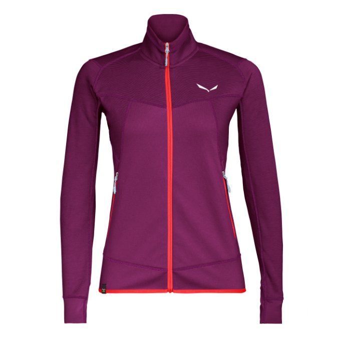 Salewa-Puez Melange 2 PL Full-Zip Fleece - Women's