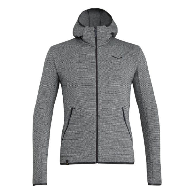 Salewa-Puez Wool Full Zip Hoody - Men's