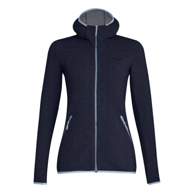 Salewa-Puez Wool Full Zip Hoody - Women's