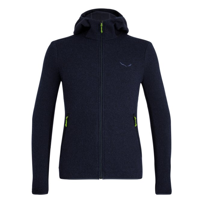 Salewa-Fanes Hybrid Wool Jacket - Men's