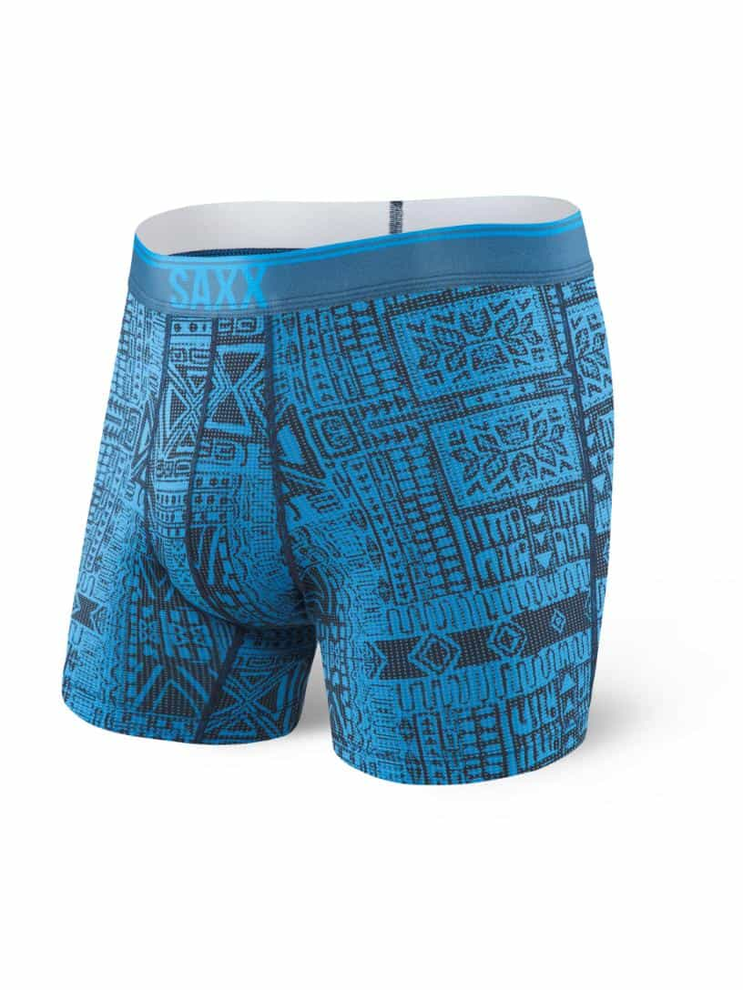 Saxx-Quest Boxer with Fly - Print