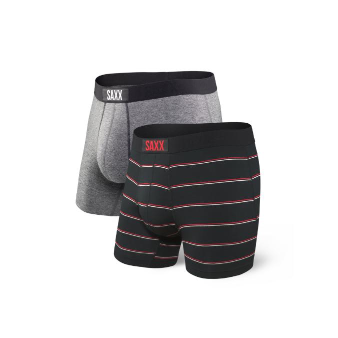 Saxx-Vibe Boxer Brief 2 Pack - Men's