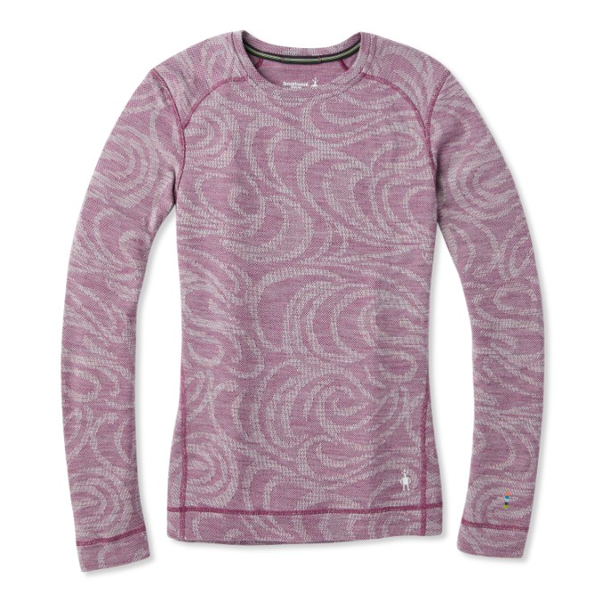 Smartwool-Merino 250 Baselayer Pattern Crew - Women's
