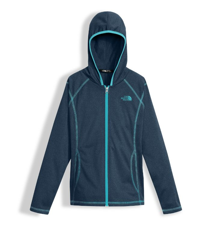 The North Face-Tech Glacier Full Zip Hoodie - Girl's