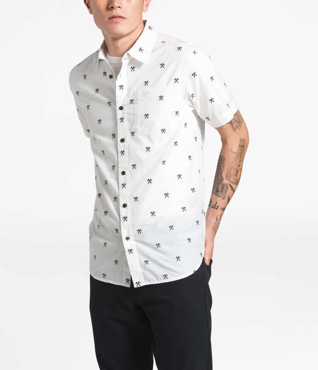 983e96842 Short-Sleeve Bay Trail Jacquard Shirt - Men's
