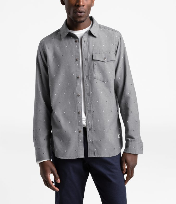 The North Face-Long-Sleeve Northwatch Printed Shirt - Men's