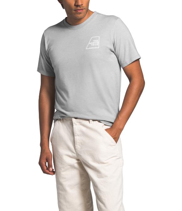The North Face-Logo Marks Short-Sleeve Tri Blend Tee - Men's