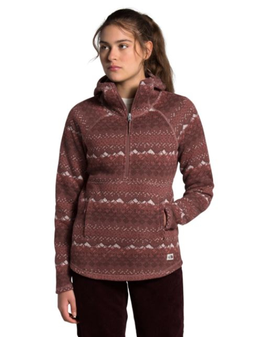 The North Face-Printed Crescent Hooded Pullover - Women's