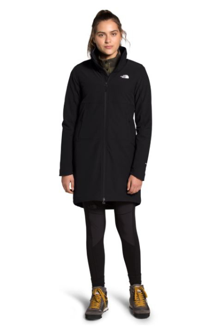 The North Face-Shelbe Raschel Parka-Length Hoodless Jacket - Women's