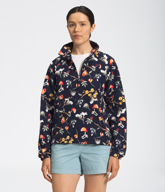 The North Face-Printed Class V Windbreaker - Women's