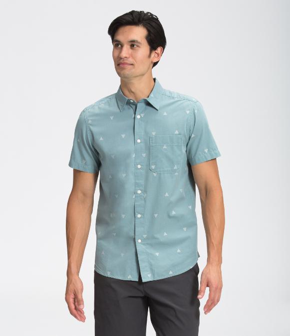 The North Face-Short-Sleeve Baytrail Jacquard Shirt - Men's