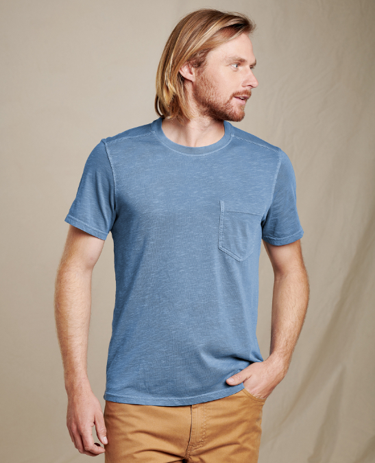 Toad & Co-Primo Short-Sleeve Crew - Men's