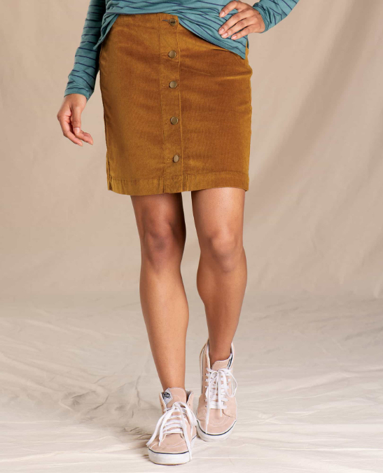 Toad & Co-Cruiser Cord Skirt - Women' s