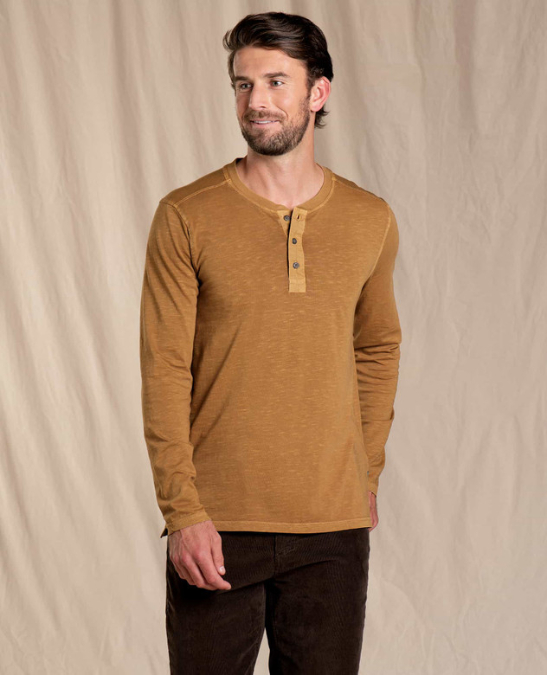 Toad & Co-Primo Long-Sleeve Henley - Men's