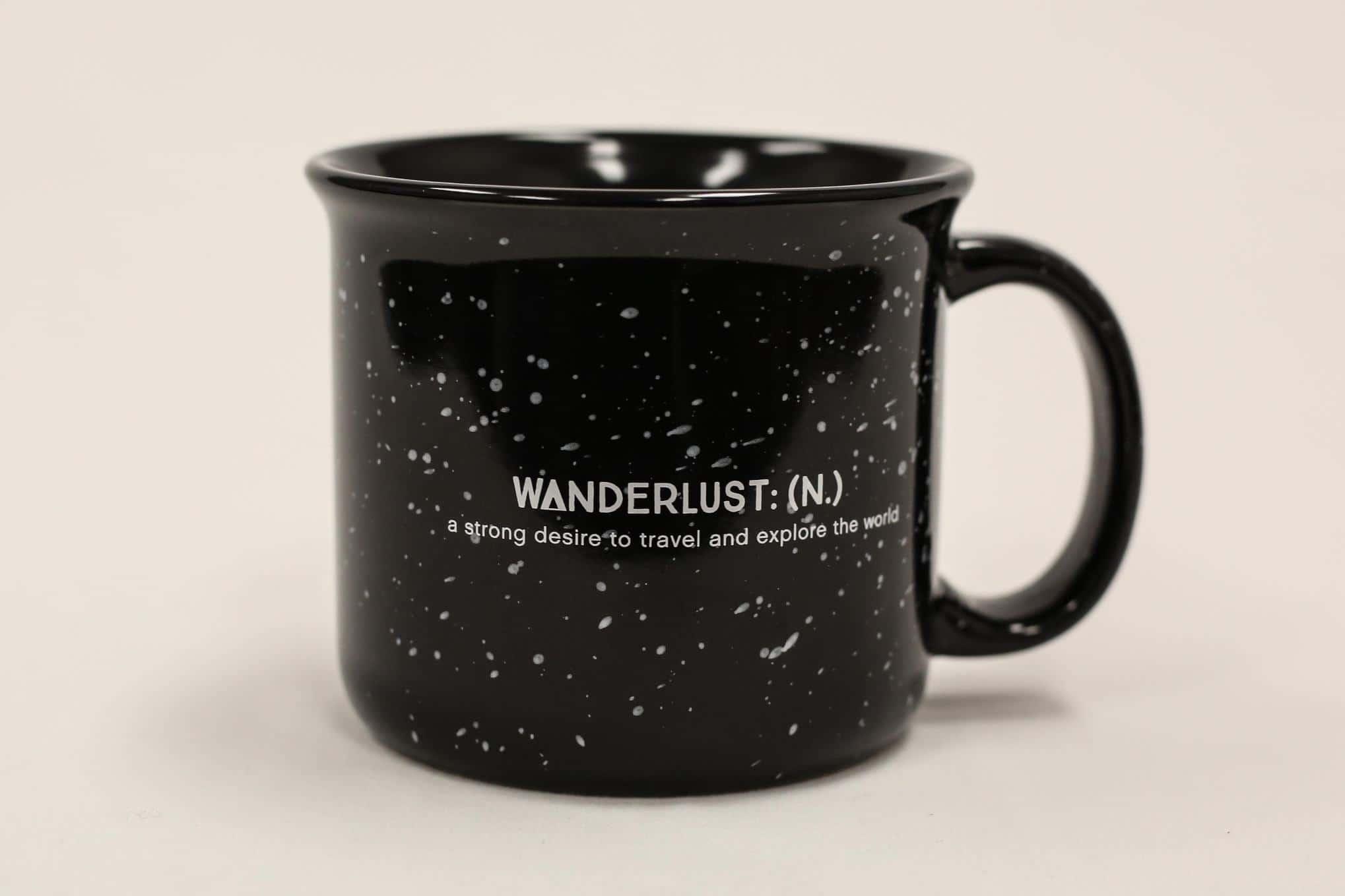 Wanderlust Outfitters-Black Wanderlust Def Mugs
