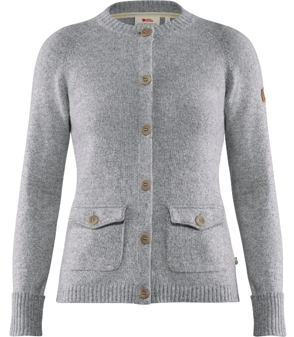 Fjällräven-Greenland Re-wool Cardigan - Women's