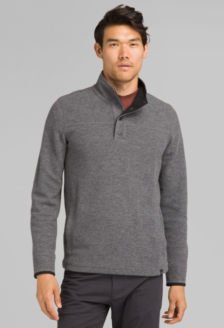 prAna-Leonidas Long-Sleeve Henley - Men's
