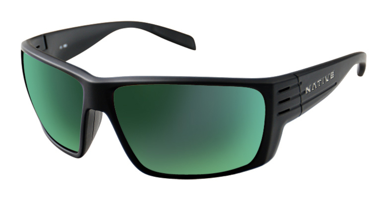 Native-Griz Sunglasses with Reflex Lens