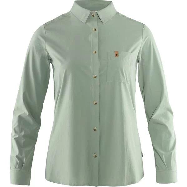 Fjällräven-Ovik Lite Shirt Long-Sleeve - Women's