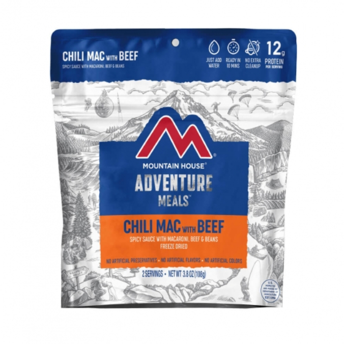 Mountain House-Chili Mac with Beef