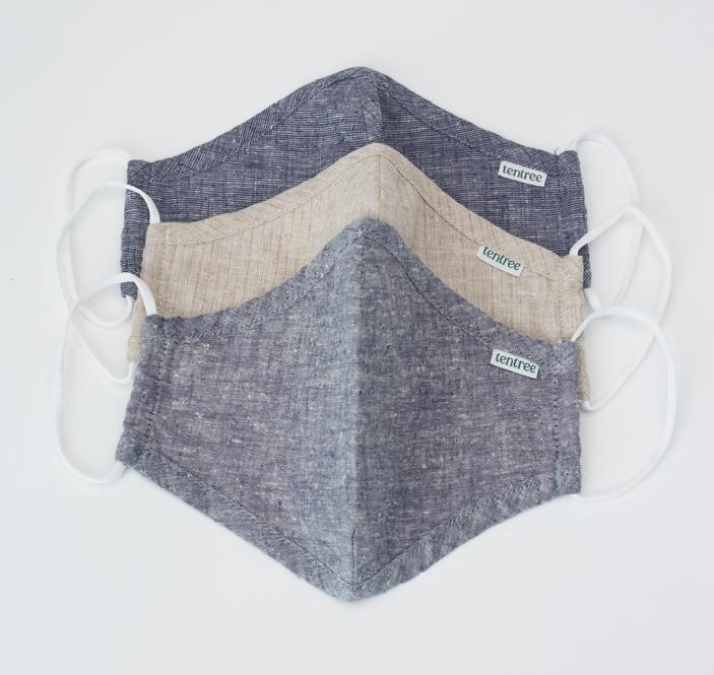 tentree-The Protect Mask (3 Pack)