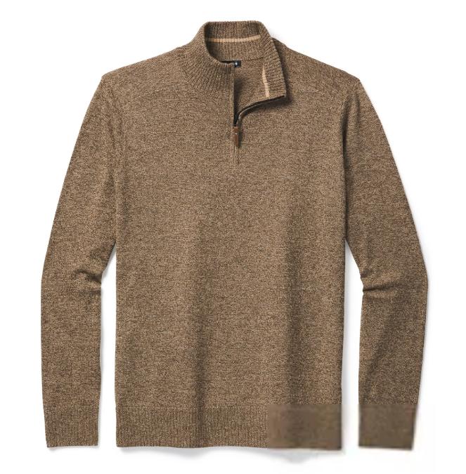 Smartwool-Sparwood Half Zip Sweater - Men's