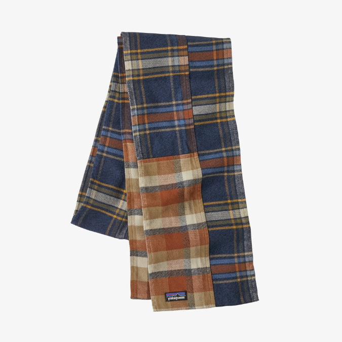 Patagonia-Fjord Flannel Patchwork Scarf