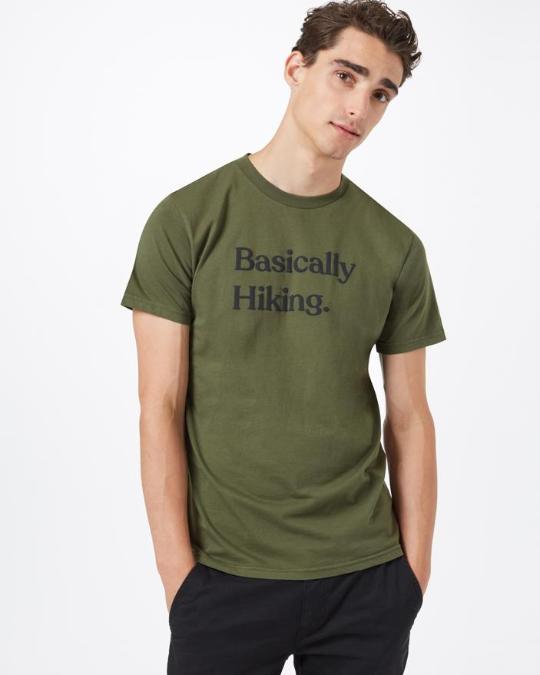 tentree-Basically Hiking Classic T-Shirt - Men's