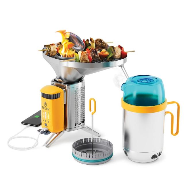 BioLite-CampStove Complete Cook Kit