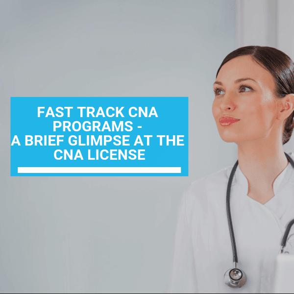 Fast Track CNA Prоgrаmѕ - A Brief Glіmрѕе at thе CNA Lісеnѕе 18