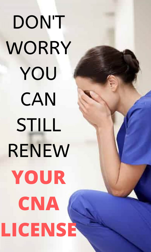 CNA License Renewal in California
