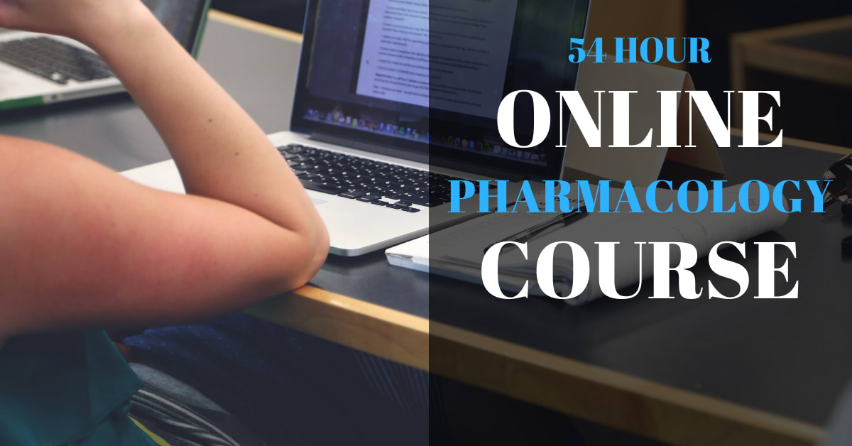 54 HOUR ONLINE PHARMACOLOGY COURSE 2
