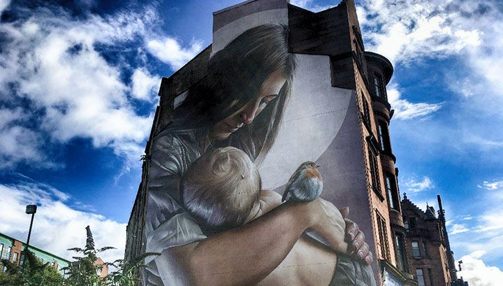 NEW ADDITION TO THE CITY CENTRE MURAL TRAIL