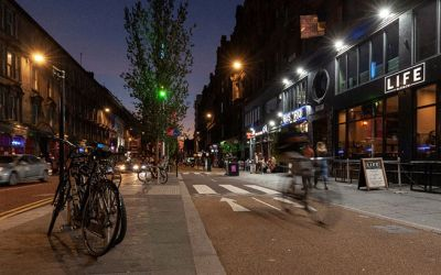 SAUCHIEHALL STREET: FIRST PHASE COMPLETED