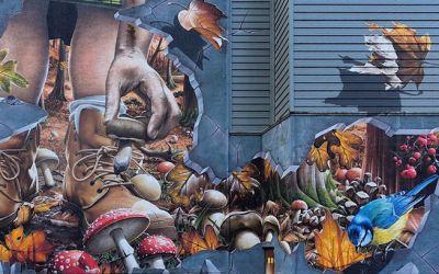 GLASGOW'S STREET ART IS WELL LOVED ON INSTAGRAM